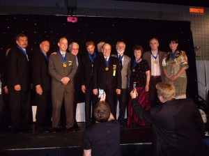 Martin Kiely honoured by receiving the 'Order of Braid' during NGH anual convention.